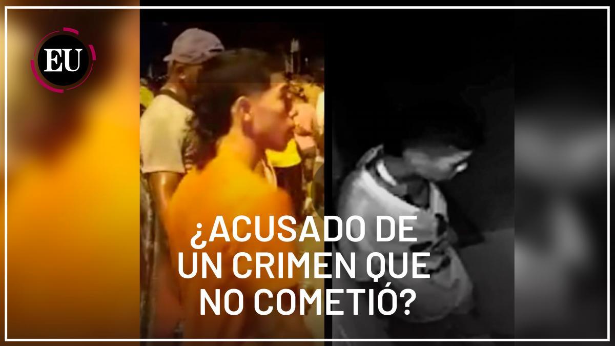 La familia de Óscar Andrés Batista Arroyo dice que es inocente.