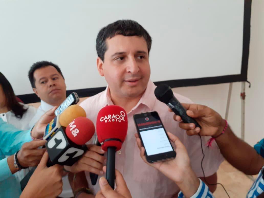 Director nacional de la Dian, José Andrés Romero Tarazona. // El Universal