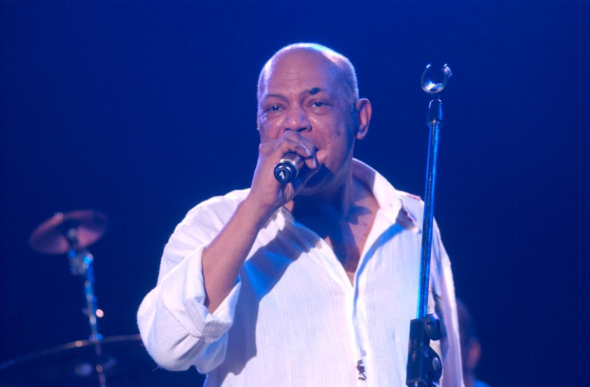 Presentación de Joe Arroyo junto a Shakira en Barranquilla.