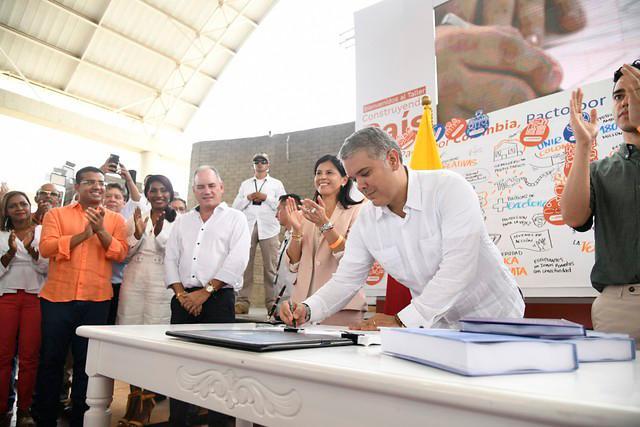 Presidente Iván Duque ya sancionó la ley del Plan Nacional de Desarrollo