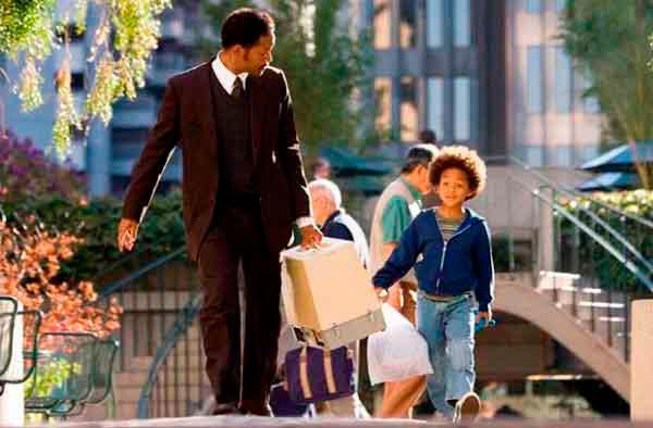 En busca de la felicidad es una gran película para disfrutar en el 'Día del Padre'./Internet