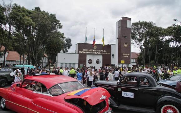La escuela General Santander fue blanco de un atentado con explosivos el pasado 17 de enero.