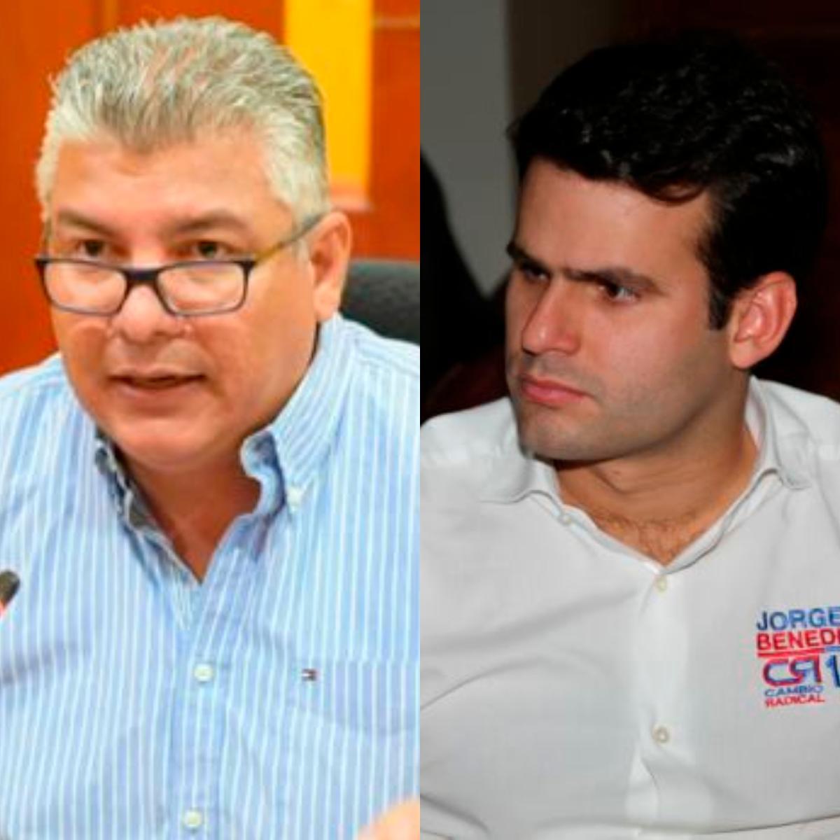 Óscar Marín y Jorge Benedetti. // El Universal