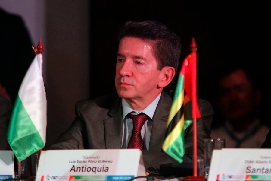 Luis Emilio Pérez Gutiérrez, Gobernador de Antioquia. // Colprensa.