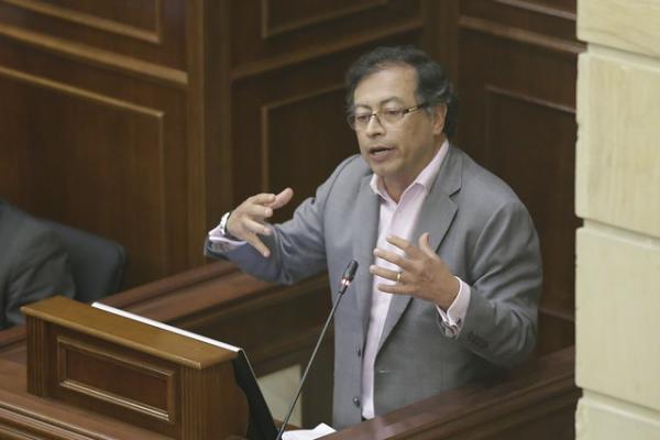 Gustavo Petro, senador de la República. Archivo/Colprensa