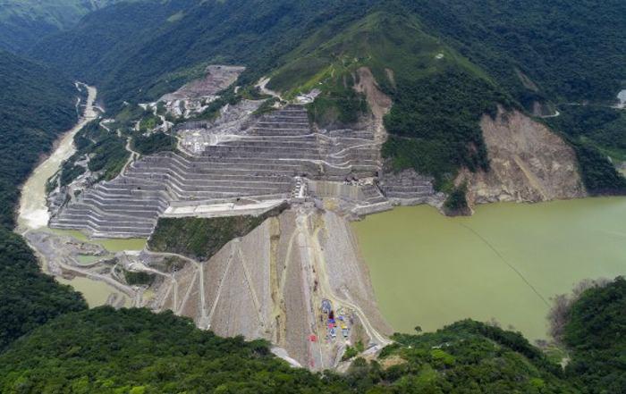 Panorámica del proyecto hidroeléctrico Hidroituango. //Colprensa.