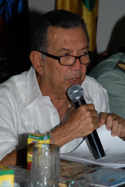 Nicolás Curi fue tres veces alcalde de Cartagena. //Archivo.