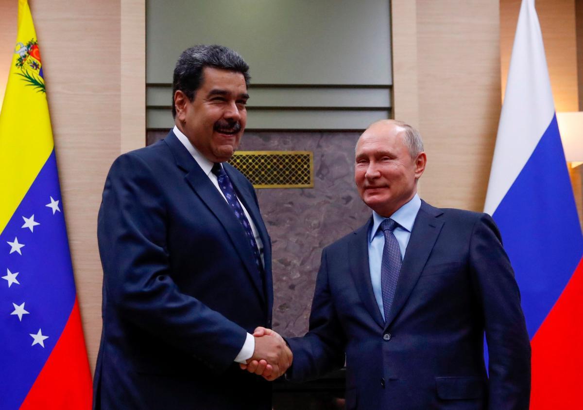 Vladimir Putin reiteró su respaldo al gobierno de Nicolás Maduro. Foto/Archivo