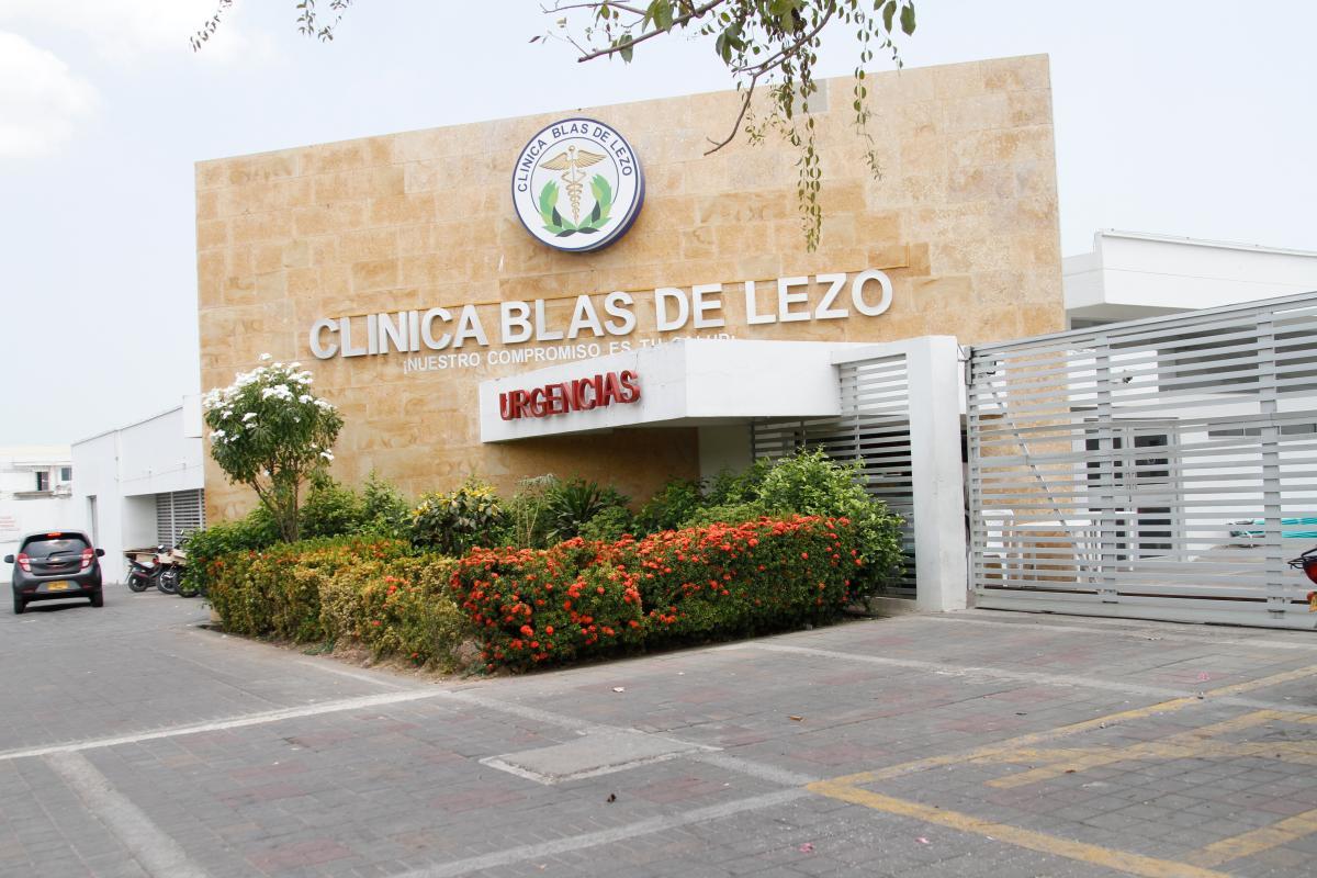 Clínica de Blas de Lezo. //Archivo.