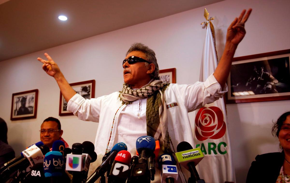 """Seuxis Paucias Hernández, llamado desde su época de guerrillero """"Jesús Santrich"""". EFE MAURICIO DUEÑAS CASTAÑEDA"""