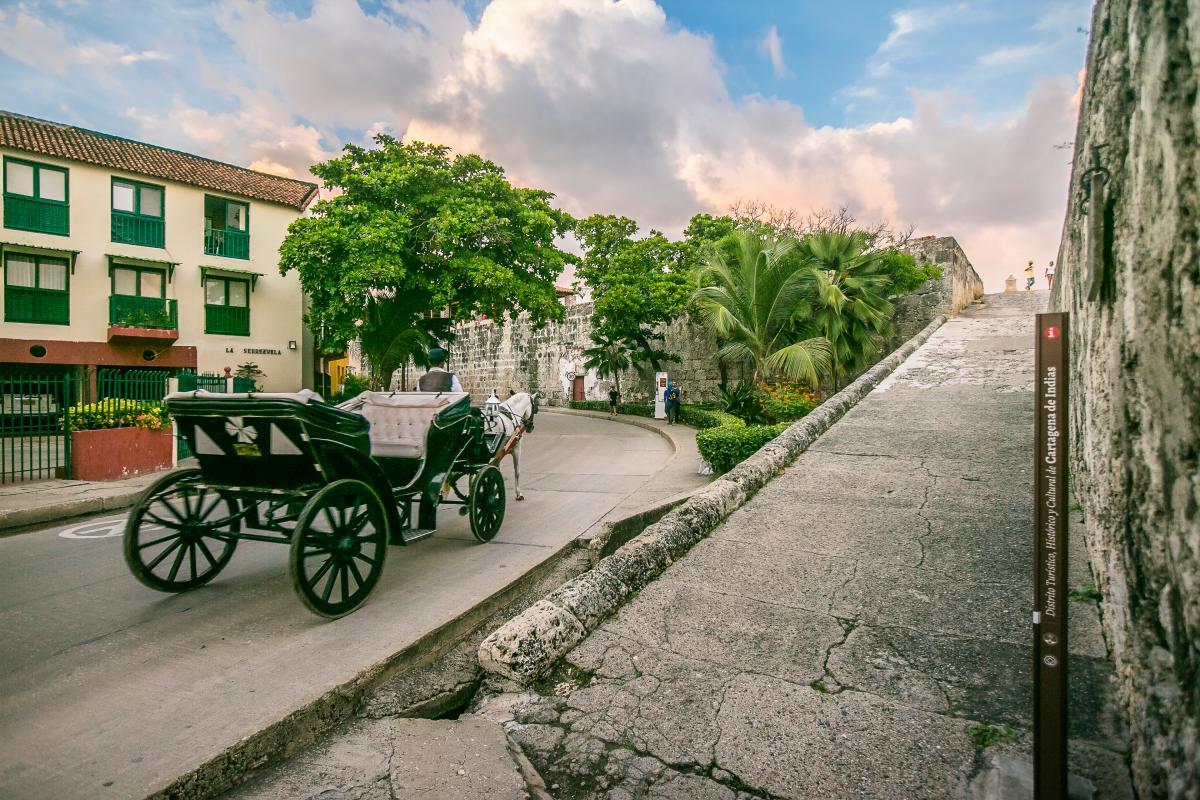 Pedro de Heredia pensó en muchos nombres a la hora de bautizar la aldea indígena Kalamarí (Tierra de cangrejos), pero se impuso el de Cartagena. //Fernando Parra- El Universal.