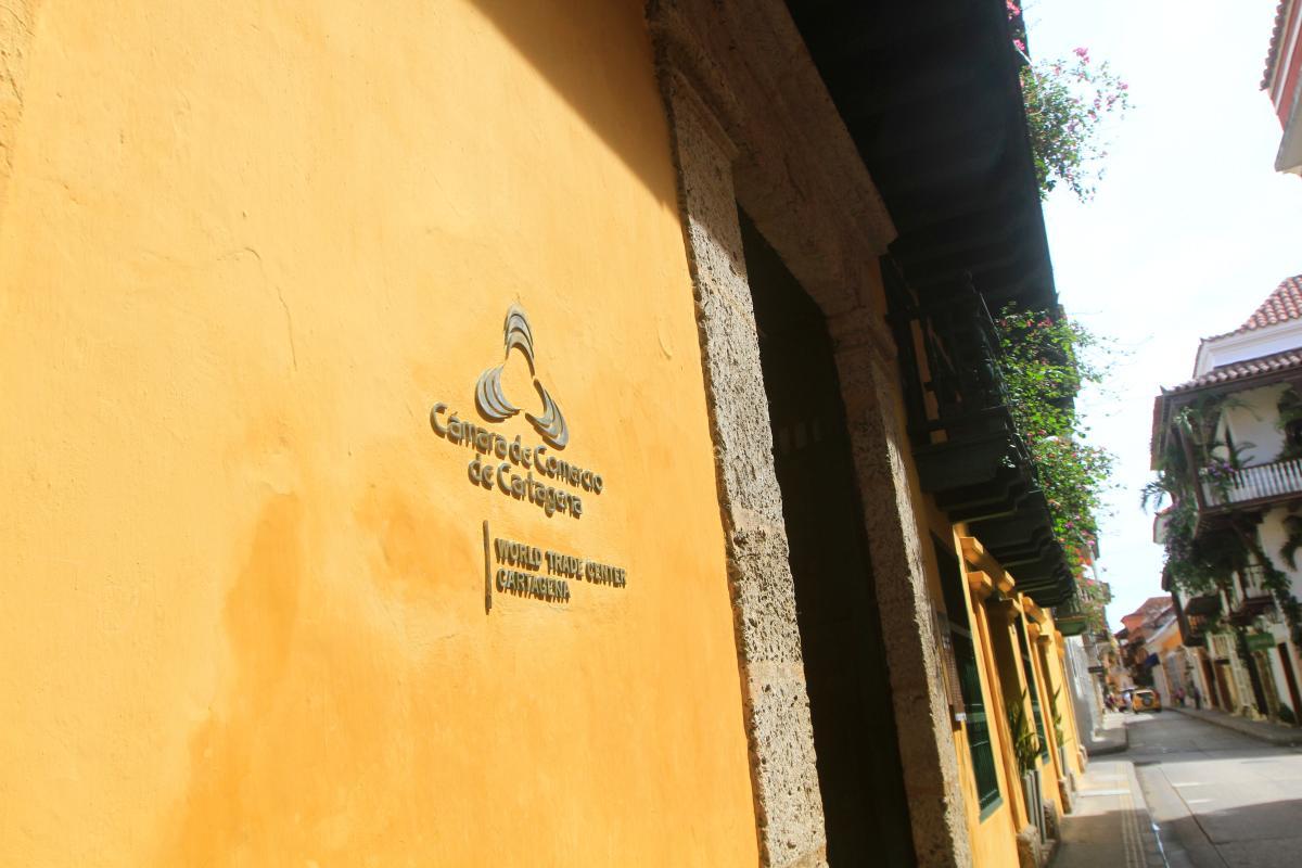 Sede de la Cámara de Comercio de Cartagena. //Archivo.