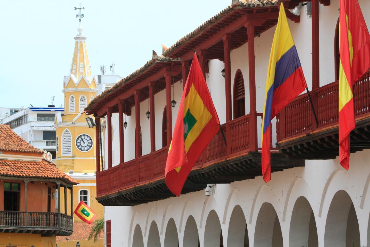 Sede de la Alcaldía de Cartagena. //Archivo.
