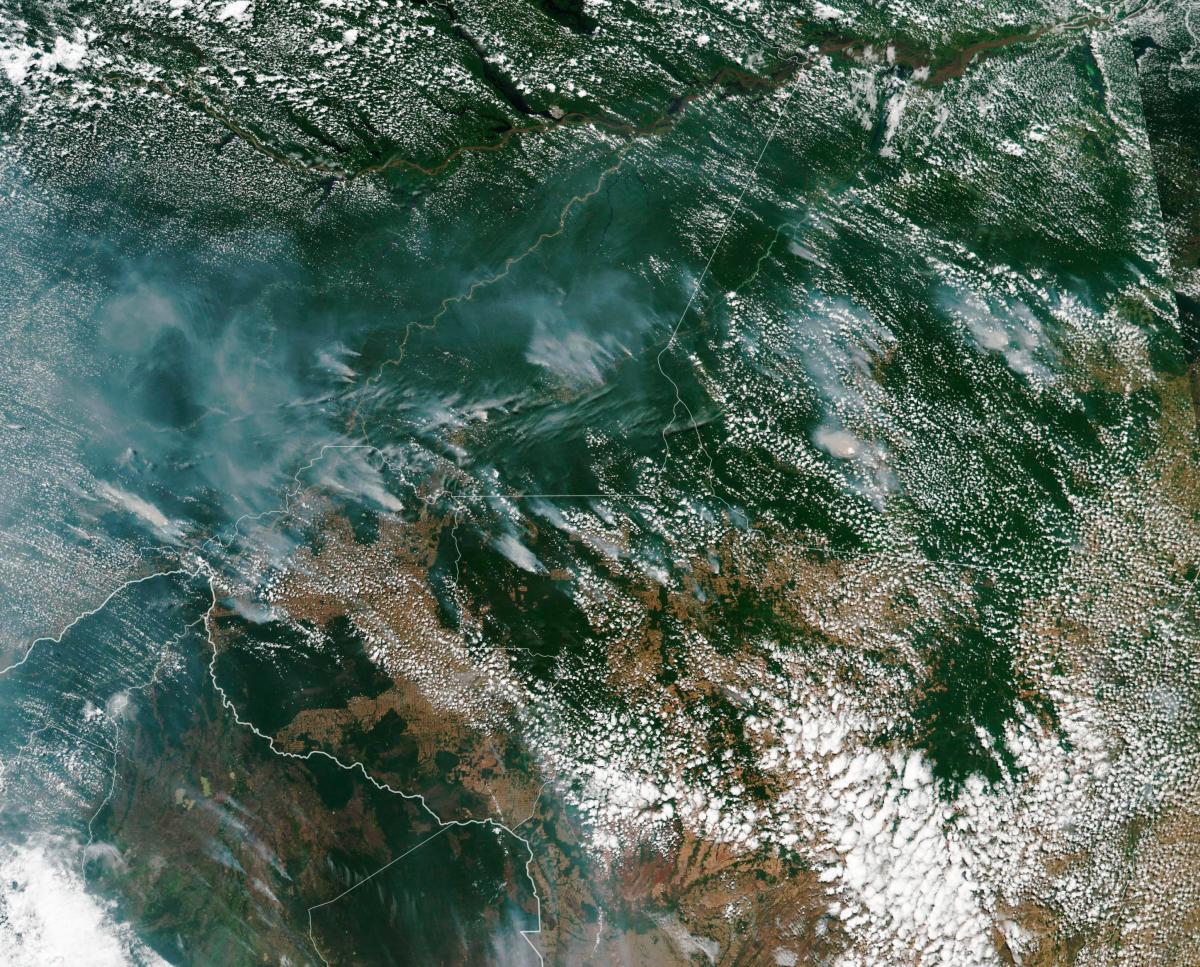 En la región del Amazonas, este tipo de incendios no es común gracias a que la humedad evita que se propaguen. Sin embargo, en julio y agosto se pueden presentar debido a que coincide con la temporada de sequía, añade el observatorio. //EFE.