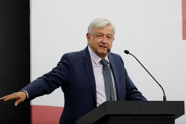 López Obrador sucederá a Enrique Peña Nieto como máximo mandatario del país. EFE