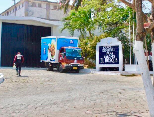 Cárcel Distrital El Bosque de Barranquilla. // Archivo