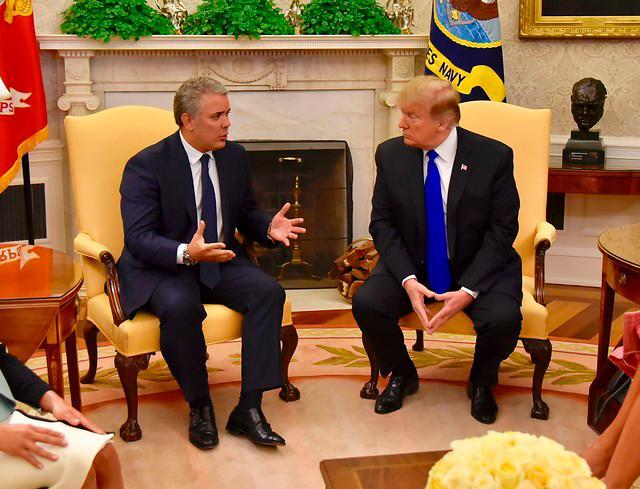 El presidente de los Estados Unidos, Donald Trump, reconoció los esfuerzos hechos por el Gobierno del presidente Iván Duque en la reducción del número de hectáreas de coca en Colombia. Colprensa