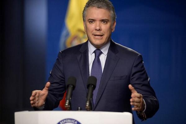 Iván Duque, presidente de Colombia. //Colprensa.