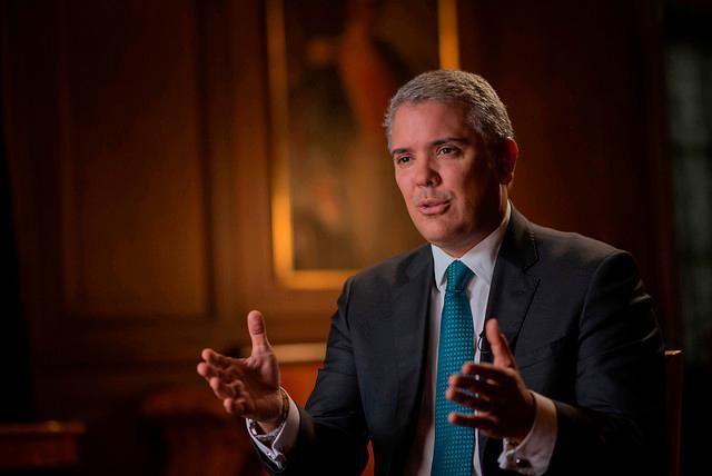 Imagen Ivan Duque presidente