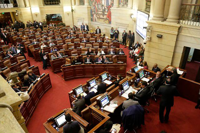 Congreso de la República. // Colprensa