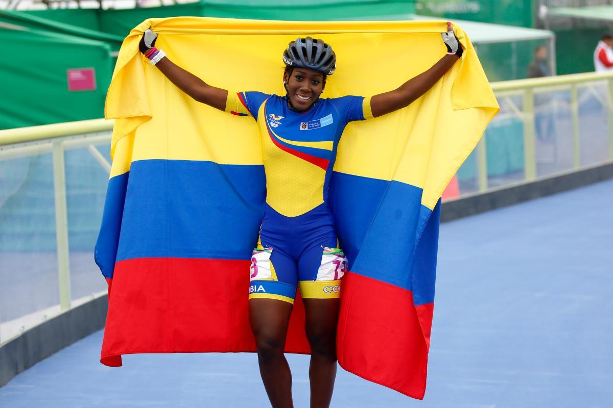 Jhoana Viveros, el oro 24 de Colombia en Lima-2019