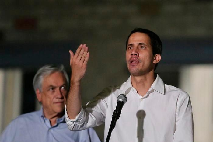 Juan Guaidó, autoproclamado presidente de Venezuela. //Colprensa.