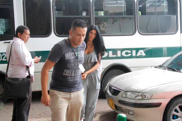 Liliana del Carmen Campos Puello, alias 'La Madame', fue capturada en julio del 2018. // Archivo.