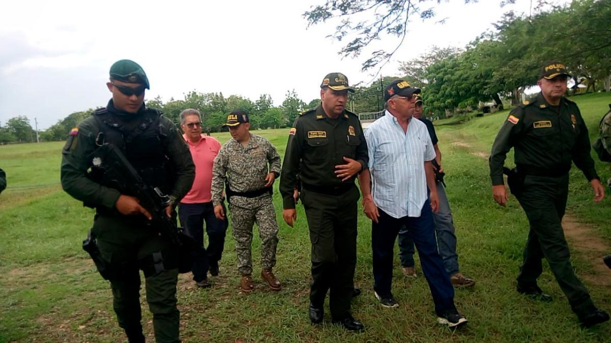 Jorge Luis Támara Olmos fue dejado libre a pocos kilómetros del casco urbano de San Marcos, Sucre.