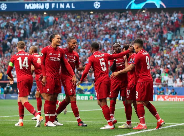 Liverpool se coronó campeón de la Champions League