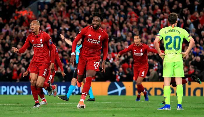 Liverpool eliminó a Barcerlona al darle vuelta a un 3-0 en contra