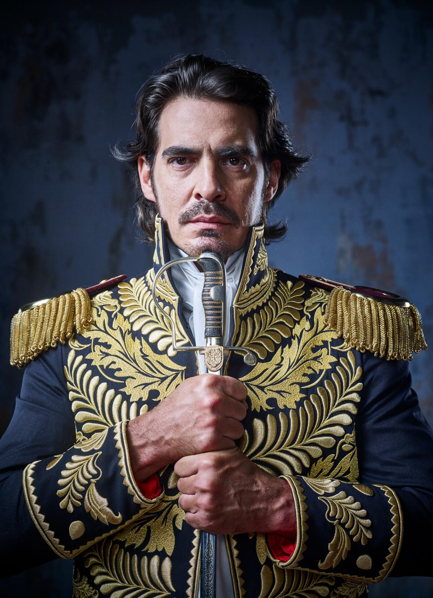 Luis Gerónimo Abreu es el actor venezolano que interpreta a Bolívar en su vida adulta.//Fotos cortesía Andrés Valbuena.