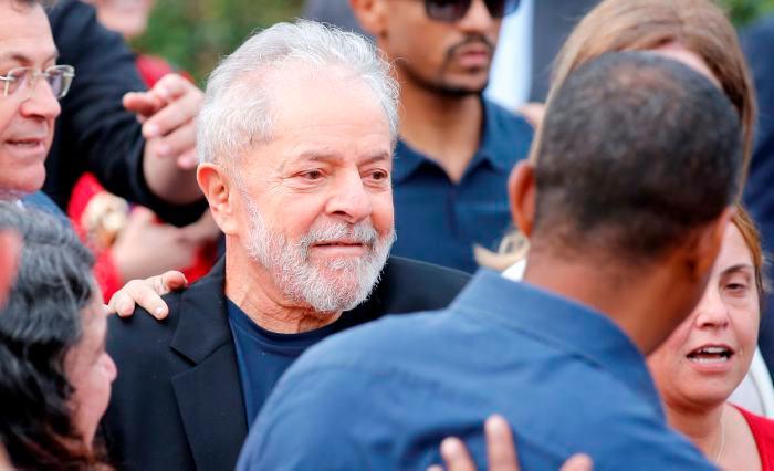 Lula da Silva salió de la cárcel