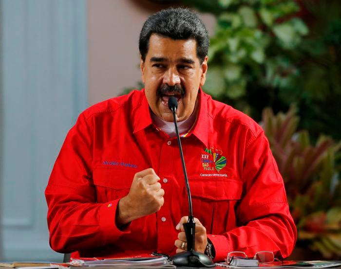 Maduro indicó que los ejercicios militares se realizarán desde el 10 de septiembre hasta el 28 de septiembre. // AP