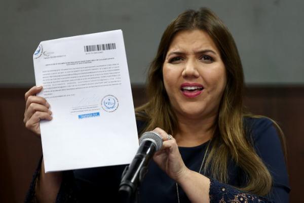 Vicuña, que negó cualquier irregularidad en los cobros, había sido designada vicepresidenta de Ecuador en octubre de 2017.//EFE