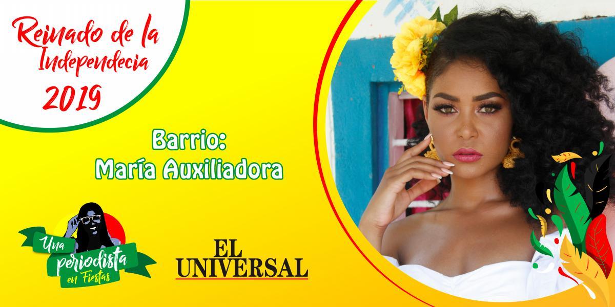 Elisa Torriente es la representante del barrio Maria Auxiliadora