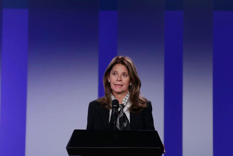 Vicepresidenta de la república, Marta Lucía Ramírez //Colprensa