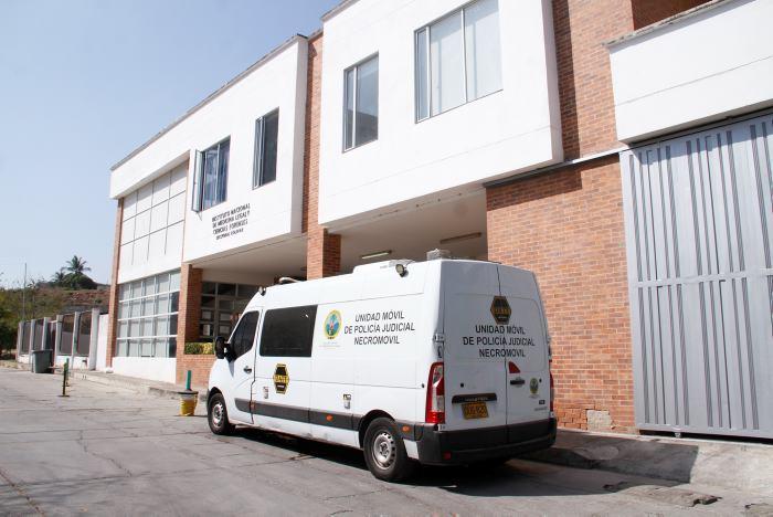 El cuerpo de Esneider López Revolledo fue llevado a Medicina Legal.