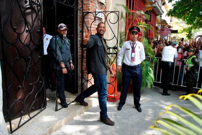 Estrenan tráiler de película que Will Smith grabó en Cartagena