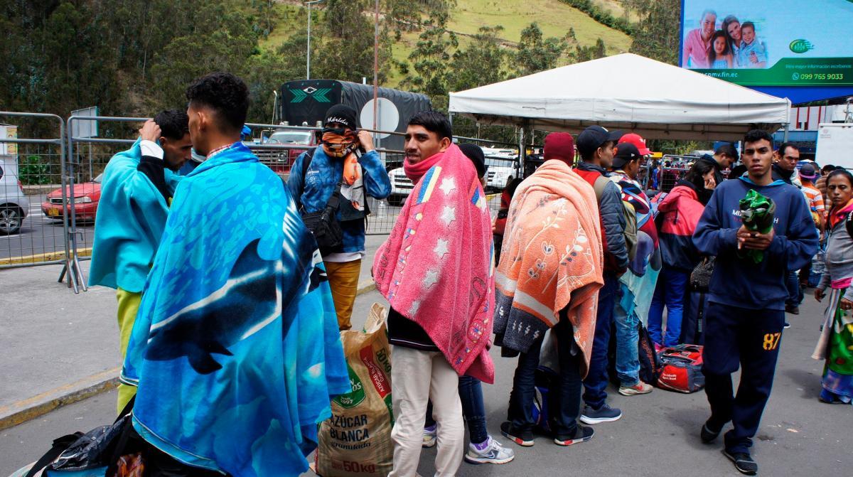 Datos del gobierno colombiano señalan que el 69,4 % de los refugiados y migrantes venezolanos en su país se concentran en 14 centros urbanos y el 31 % están en la zona fronteriza. // EFE/ Carlos Jimenez