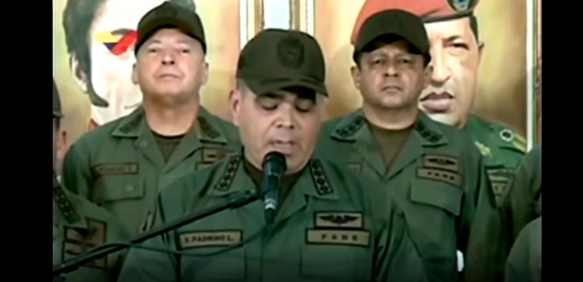 Alto mando militar venezolano, reitera lealtad a Maduro tras mensaje de Trump