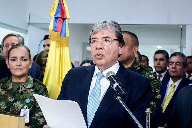 Ministro de Defensa, Carlos Holmes Trujillo. // Colprensa