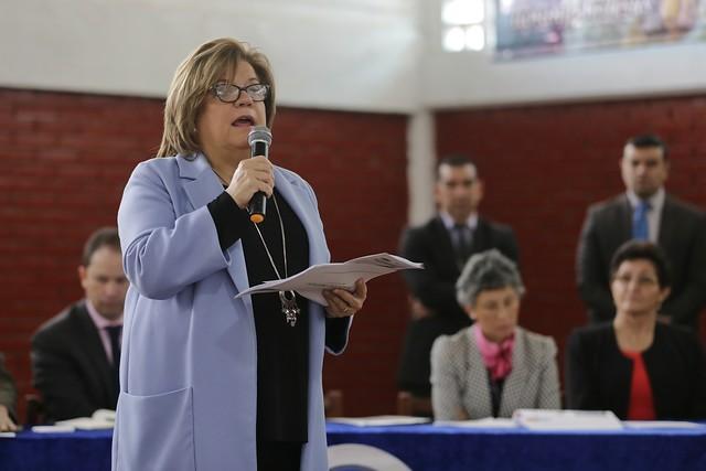 Gloria María Borrero, ministra de Justicia y del Derecho. // Colprensa