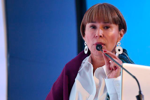 Alicia Arango, ministra del Trabajo. // Colprensa.