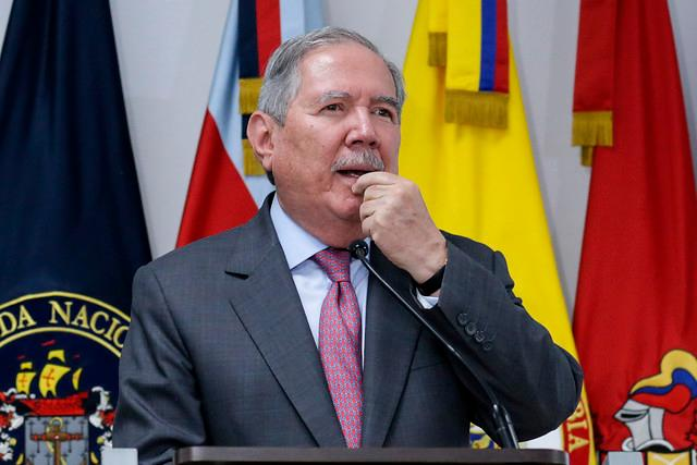 Ministro de Defensa, Guillermo Botero. // Colprensa