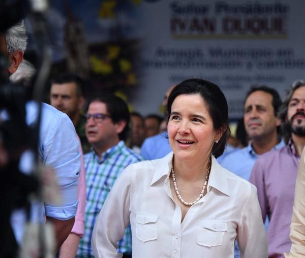 Sylvia Constaín, ministra de las Tecnologías de la Información y las Comunicaciones. //Colprensa