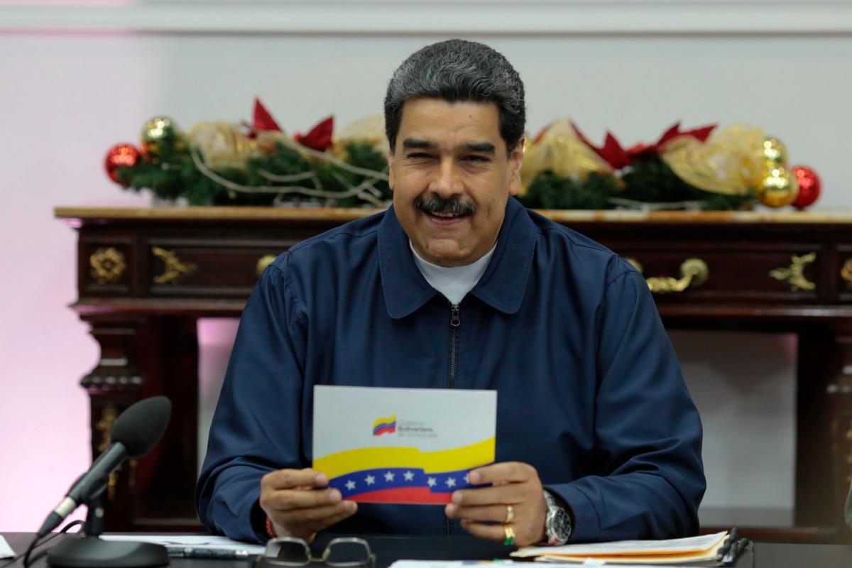 Maduro descartó que Guaidó, que hace poco más de un año proclamó un Gobierno interino que reconocen más de 50 países, con Estados Unidos a la cabeza, tenga el poder para extraditar a Merlano.