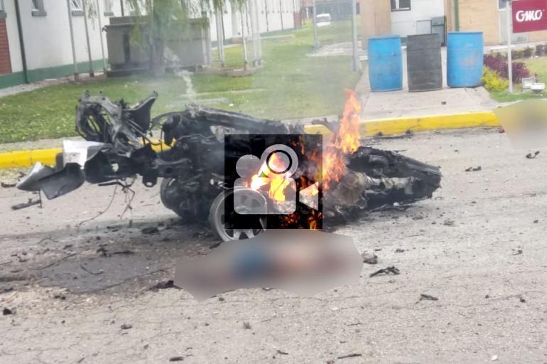 Video: Impactantes imágenes del atentado con carro bomba en Bogotá