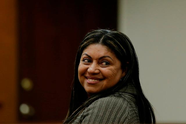 Oneida Pinto, exgobernadora de La Guajira. Colprensa.