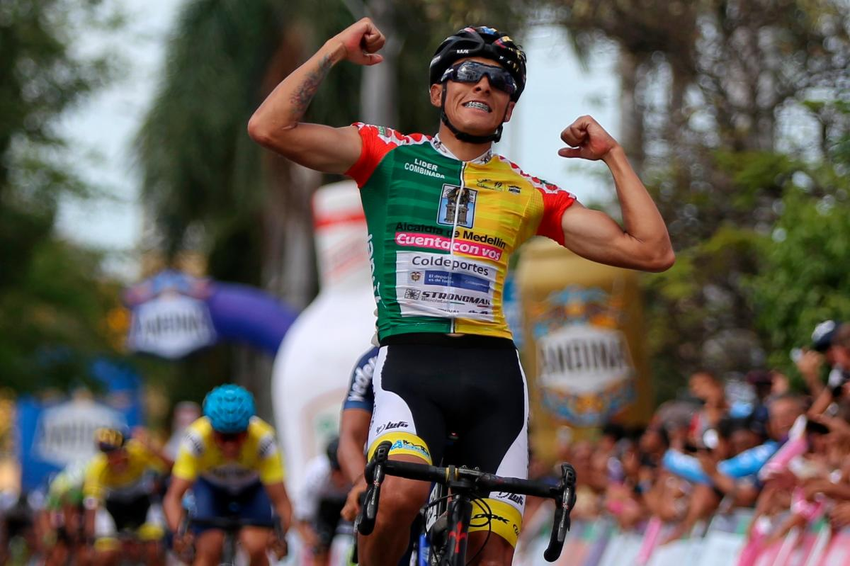 Óscar Quiroz se impuso y se adjudicó la victoria de la etapa 8