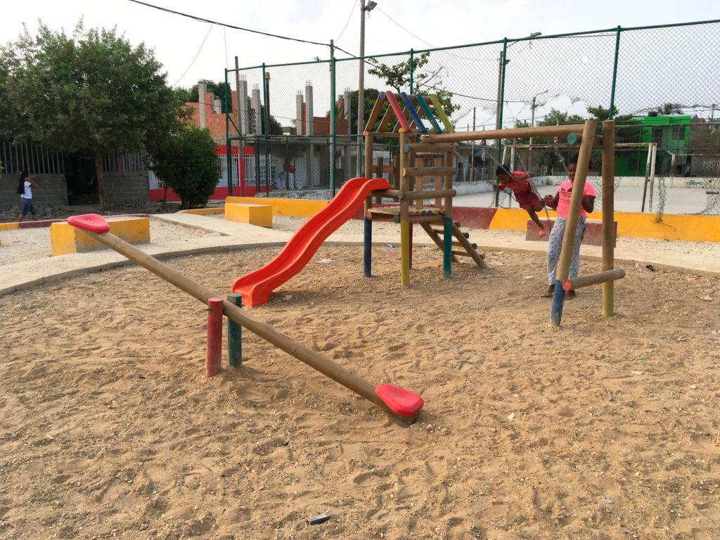 Parque de Olaya sector 11 de Noviembre. //Cortesía